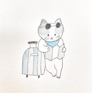 The Curious Adventures of the Cat in the Camper Van